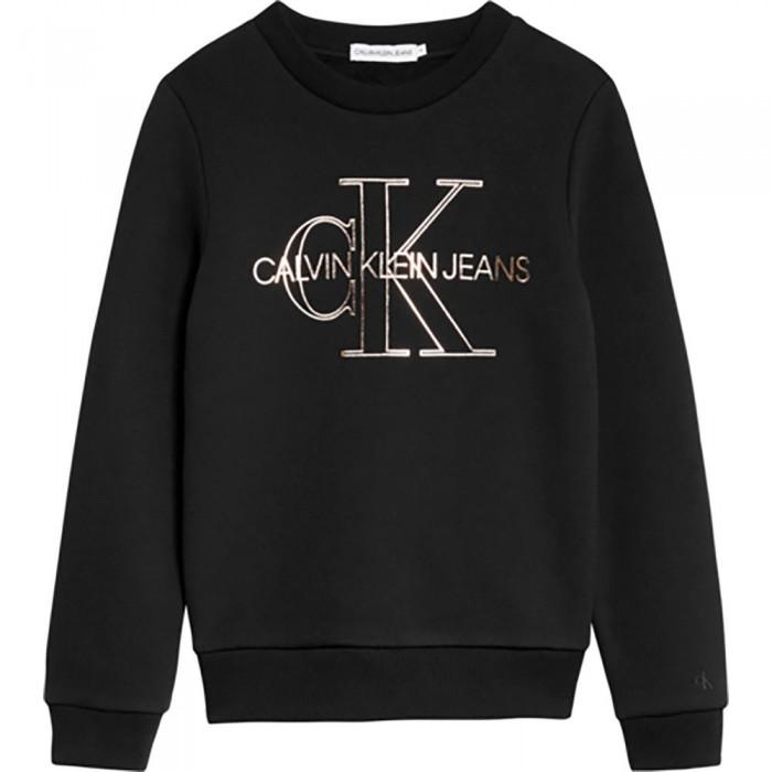 [해외]캘빈클라인 JEANS Monogram Outline Sweatshirt 15138226623 Ck Black