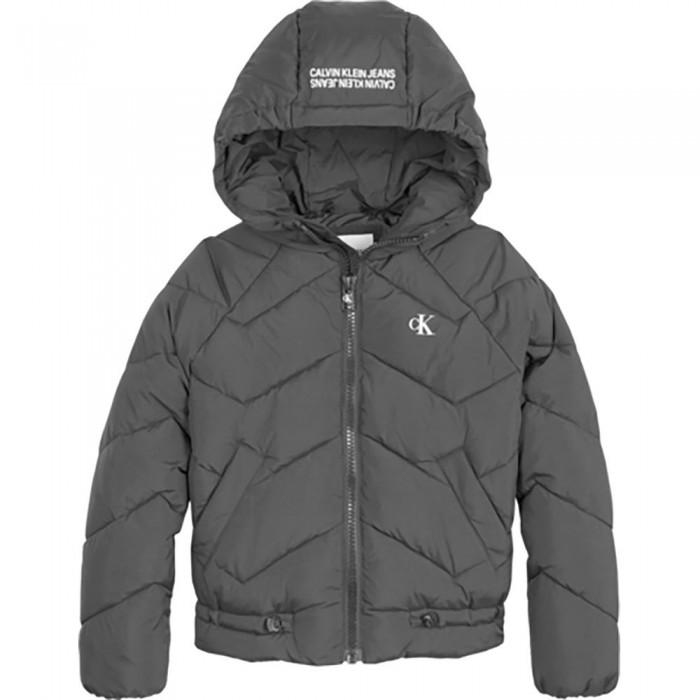 [해외]캘빈클라인 JEANS Quilted Puffer Jacket 15138226626 Ck Black
