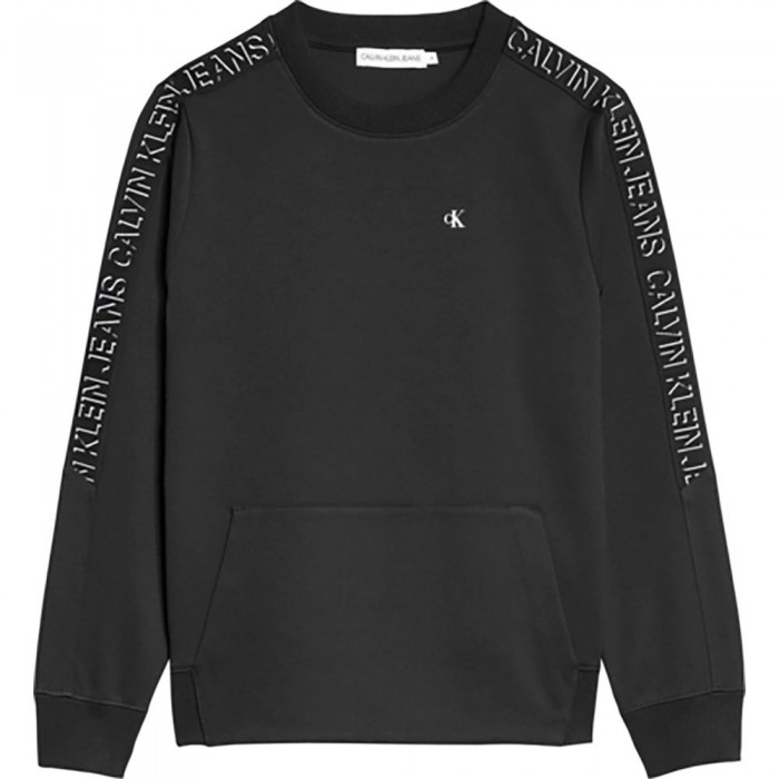 [해외]캘빈클라인 JEANS Shadow Logo Tape Sweatshirt 15138226631 Ck Black