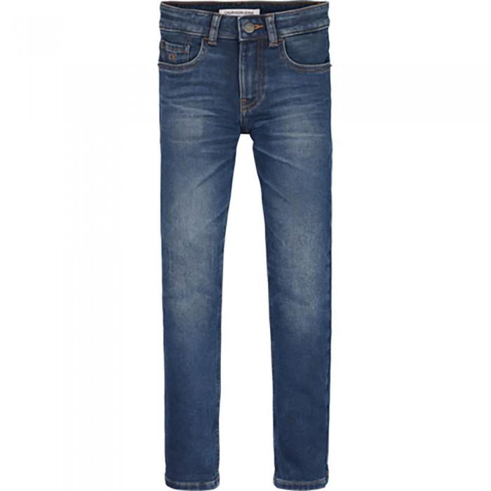[해외]캘빈클라인 JEANS Skinny Athletic Wash Blue Jeans 15138226632 Athletic Washed Blue Stretch