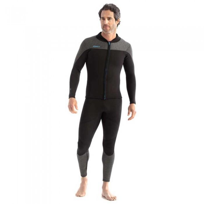 [해외]JOBE Toronto 2 mm Front Zip Suit 14137838483 Black / Grey