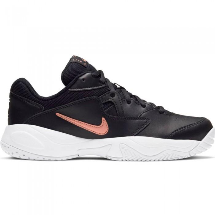 [해외]나이키 Court Lite 2 Shoes 12138031204 Black / Metalic Red Bronze / White