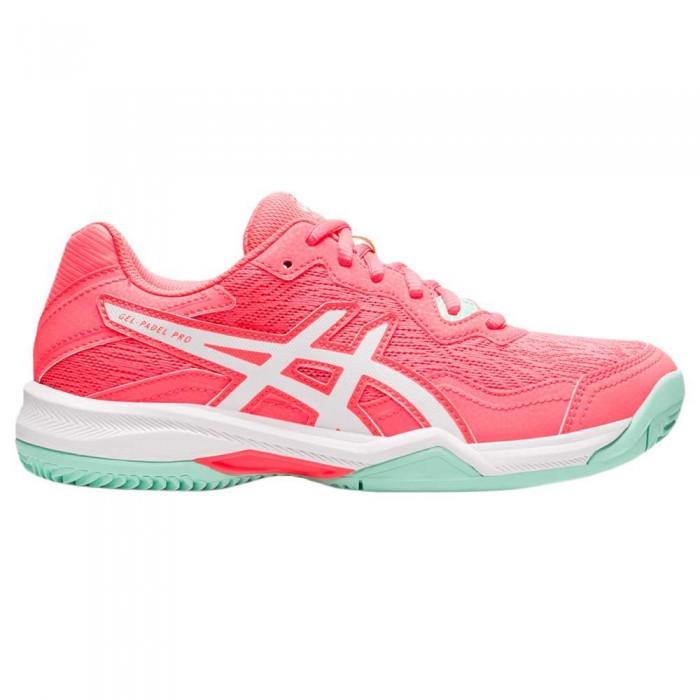 [해외]아식스 Gel-Pro 4 Shoes 12138131603 Blazing Coral / White