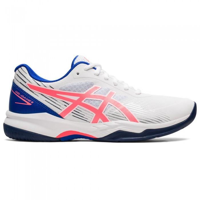 [해외]아식스 Gel-Game 8 Shoes 12138131677 White / Blazing Coral