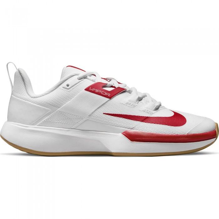 [해외]나이키 Court Vapor Lite Hard Shoes 12138251364 White / University Red-Wheat