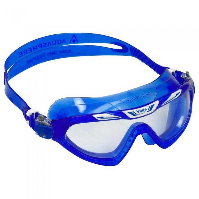 [해외]아쿠아스피어 Vista XP Swimming Mask 6138204220 Blue / White / Clear