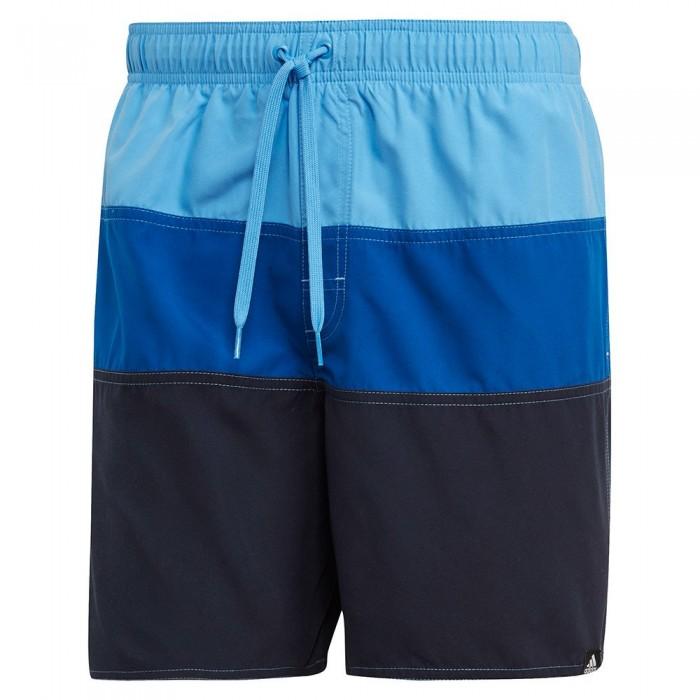 [해외]아디다스 Colorblock Swimming Shorts 6137217276 Real Blue / Collegiate Royal