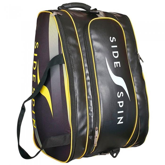 [해외]SIDESPIN America Padel Racket Bag 12138260660 Black / Yellow