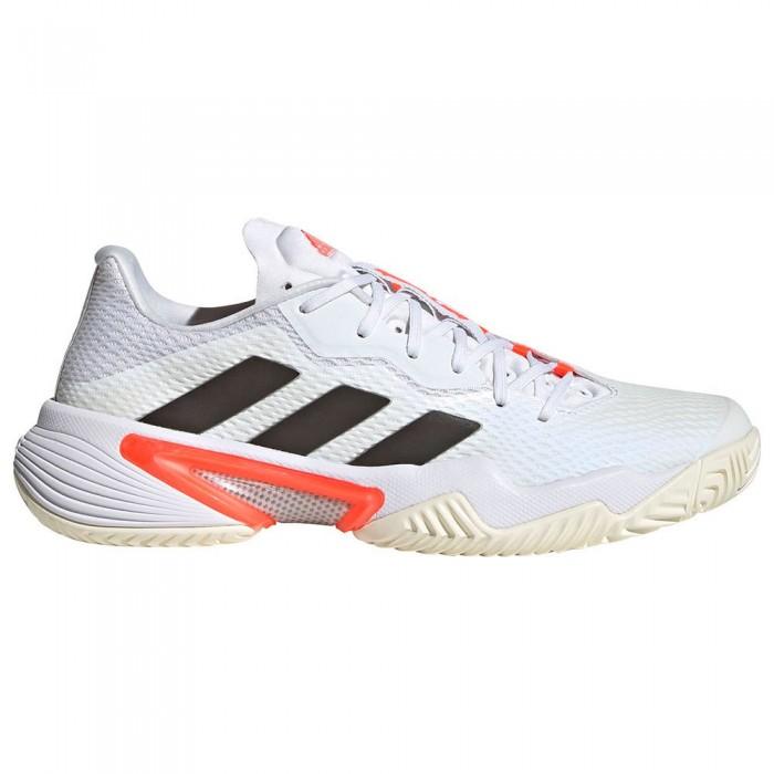 [해외]아디다스 Barricade Shoes 12138104749 Ftwr White / Core Black / Solar Red 1