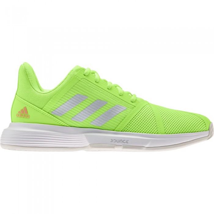 [해외]아디다스 Courtjam Bounce Shoes 12138104794 Signal Green / Silver Metalic / Ftwr White