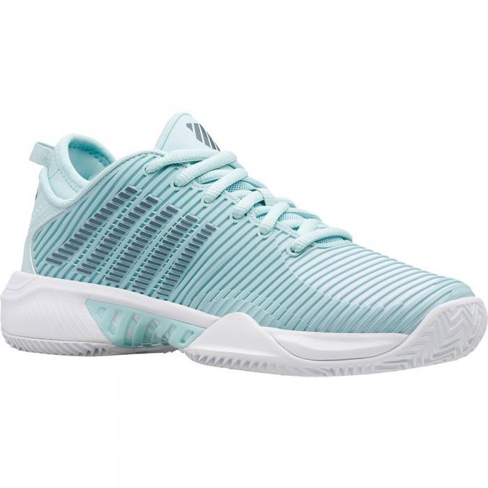 [해외]케이스위스 Hypercourt Supreme HB Clay Shoes 12138118722 Icy Morn / Stormy Weather / White