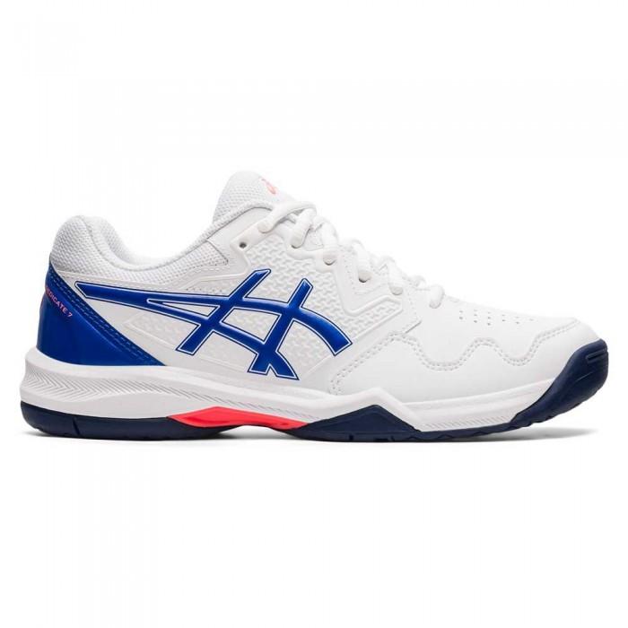[해외]아식스 Gel-Dedicate 7 Shoes 12138131857 White / Lapis Lazuli Blue