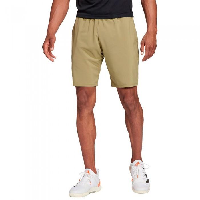 [해외]아디다스 Club SW 9´´ Shorts 12138110039 Orbit Green / Black