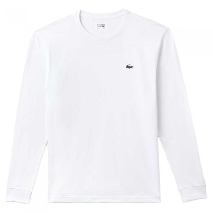 [해외]라코스테 TH0123 Long Sleeve T-Shirt 12138116402 White
