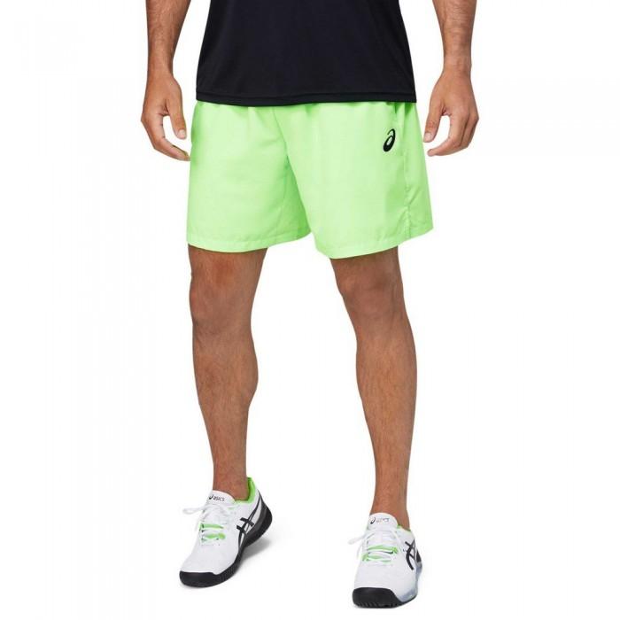 [해외]아식스 Court 7´´ Shorts 12138131094 Green Gecko