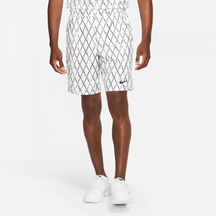 [해외]나이키 Dri Fit Victory 9´´ Printed Shorts 12138252716 White / Black