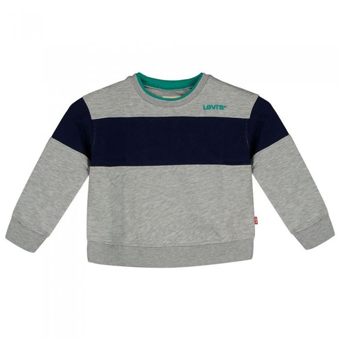 [해외]리바이스 ? KIDS Colorblock Sweatshirt 15138145737 Grey Heather