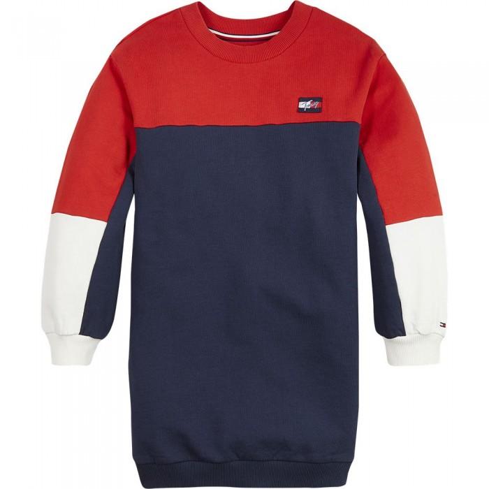 [해외]타미힐피거 KIDS Colorblock Dress Sweatshirt 15138164909 Twilight Navy