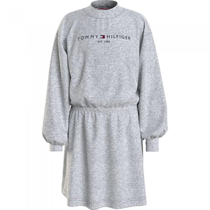 [해외]타미힐피거 KIDS Essential Dress Sweatshirt 15138164910 Light Grey Heather
