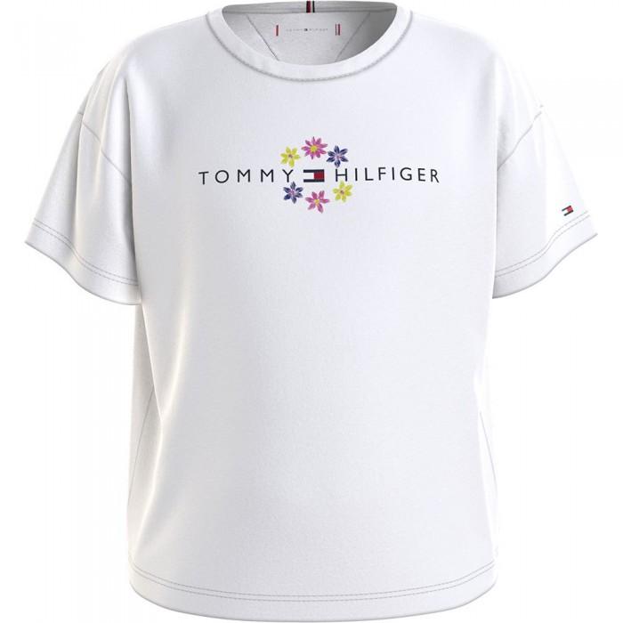 [해외]타미힐피거 KIDS Floral Short Sleeve T-Shirt 15138164916 White