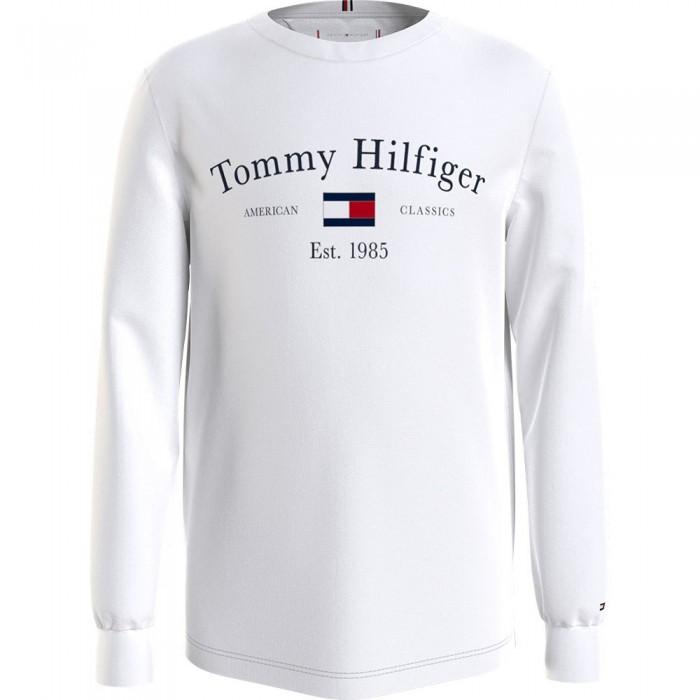 [해외]타미힐피거 KIDS Artwork Long Sleeve T-Shirt 15138164922 White