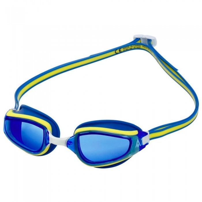 [해외]아쿠아스피어 Fastlane Swimming Goggles 6138204217 Blue / Yellow / Blue