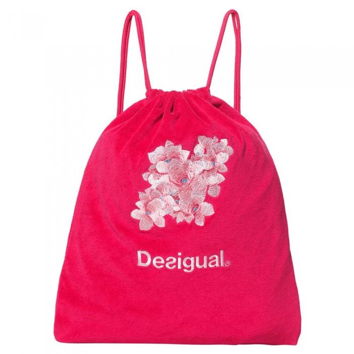 [해외]데시구알 Hindi Dancer Drawstring Bag 14136999851 Poppy Coral