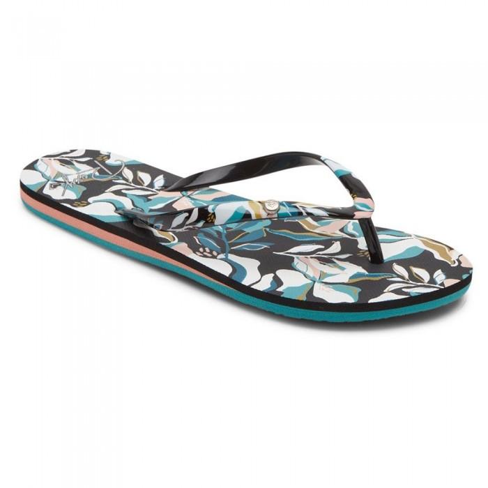 [해외]록시 Portofino III Sandals 14138161542 Black / Blue