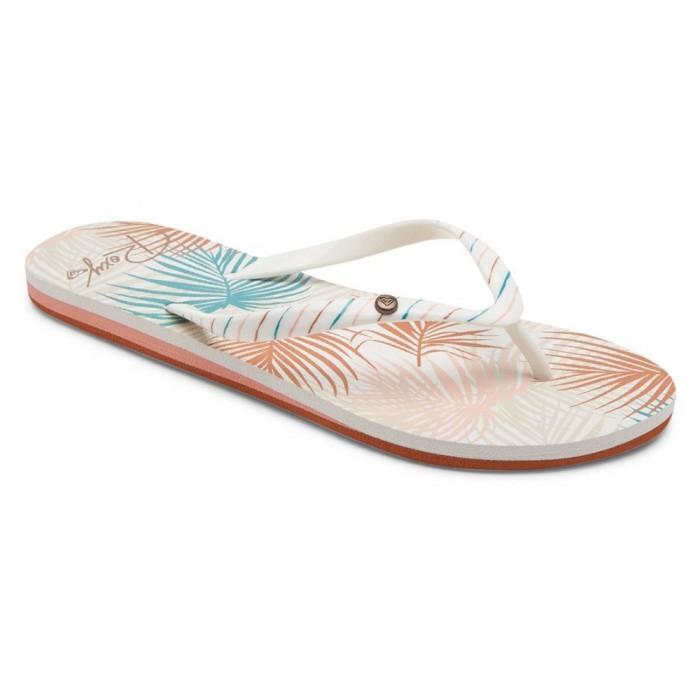 [해외]록시 Portofino III Sandals 14138161543 White / Tan