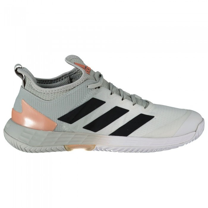 [해외]아디다스 Adizero Ubersonic 4 Shoes 12138104429 Grey Two / Core Black / Ftwr White