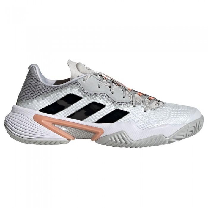 [해외]아디다스 Barricade Shoes 12138104747 Ftwr White / Silver Metalic / Ambient Blush