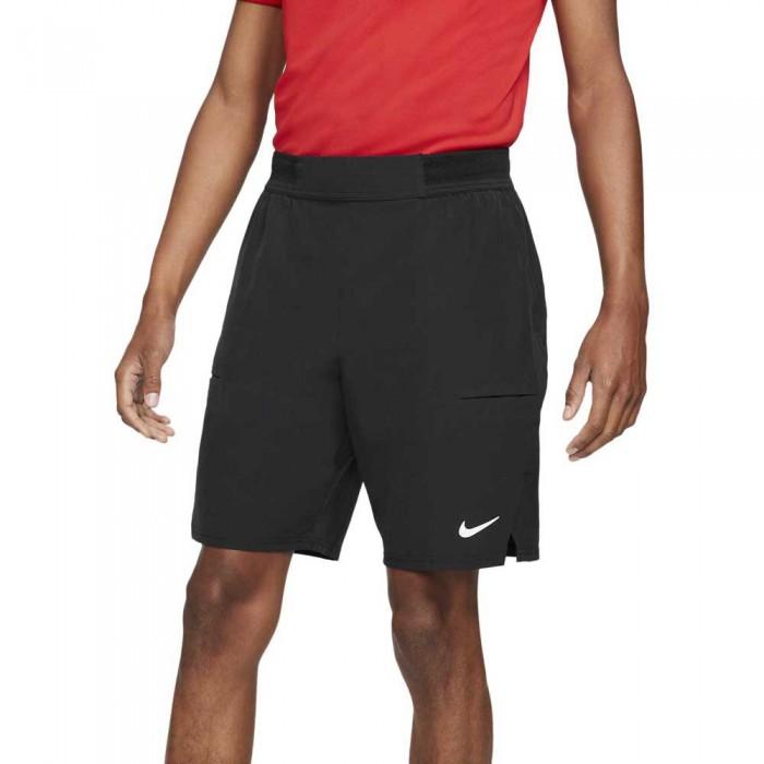 [해외]나이키 Court Dri Fit Advantage 9´´ Short Pants 12137983869 Black / White