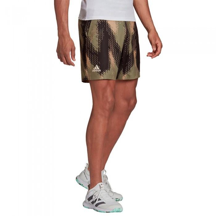 [해외]아디다스 Printed Shorts 12138108150 Orbit Greembient Blush