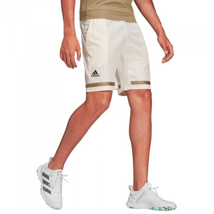 [해외]아디다스 Club Shorts 12138110030 Wonder White / Black