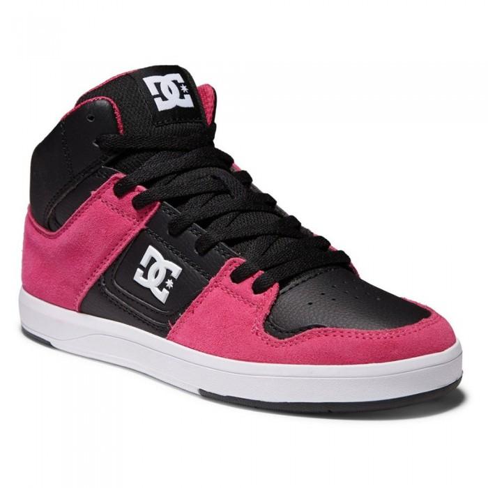 [해외]DC슈즈 Cura Hi Top Trainers 14138152510 Black / White / Pink