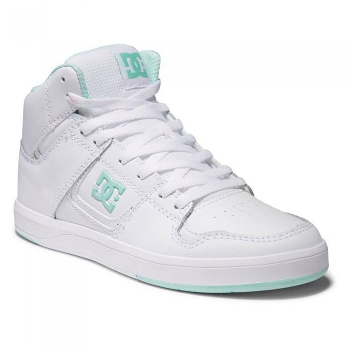 [해외]DC슈즈 Cura Hi Top Trainers 14138152511 White / Lt Green