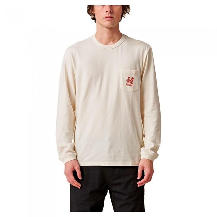 [해외]글로브 Vincent Milou Long Sleeve T-Shirt 14138124510 Bleach Free-Dye Free