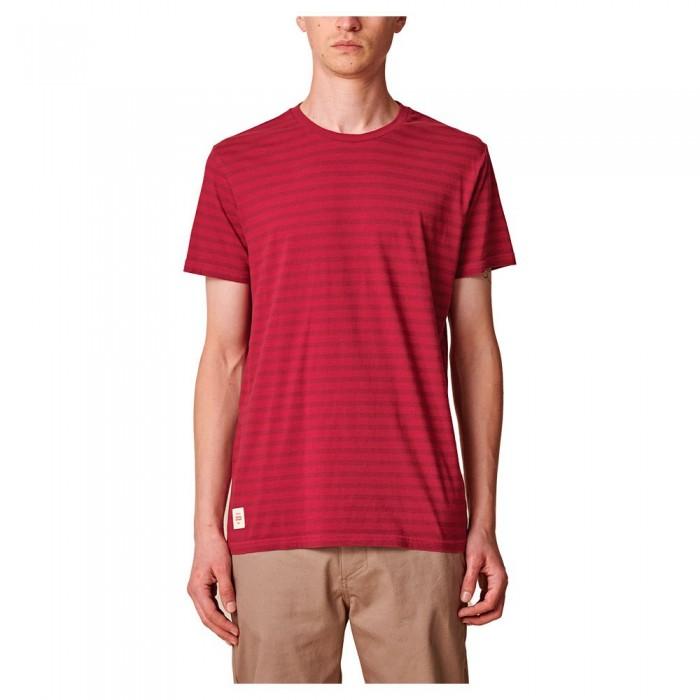 [해외]글로브 Horizon Striped Striped Short Sleeve T-Shirt 14138124512 Rhubarb
