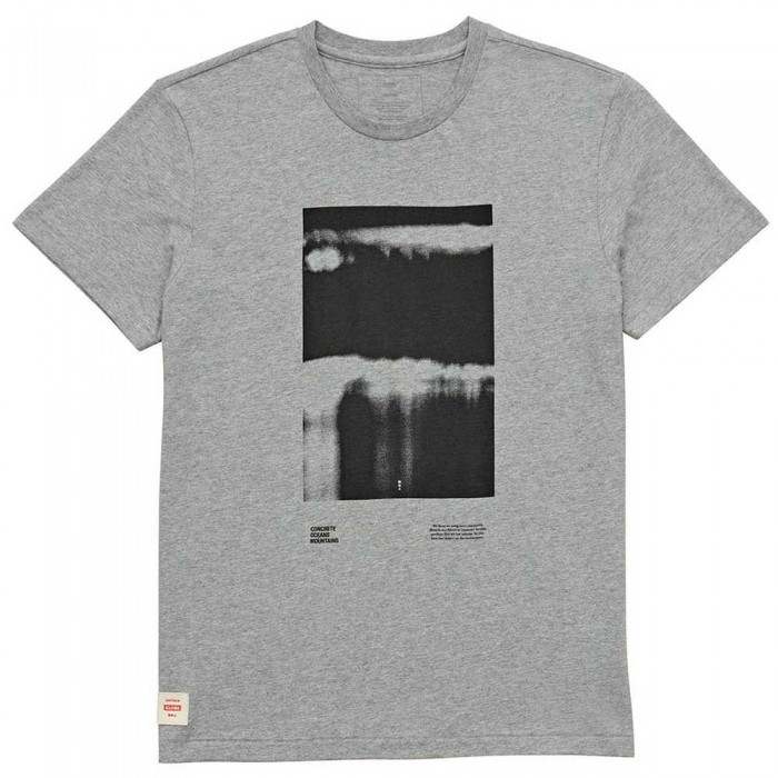 [해외]글로브 Barrelstee Short Sleeve T-Shirt 14138124527 Grey Marle