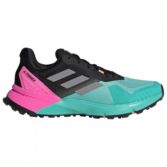 [해외]아디다스 테렉스 Soulstride Trail Running Shoes 6138103750 Acid Mint / Grey Three / Core Black