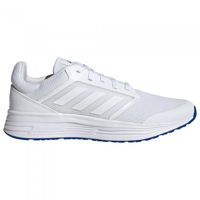 [해외]아디다스 Galaxy 5 Running Shoes 6138103944 Ftwr White / Ftwr White / Team Royal Blue