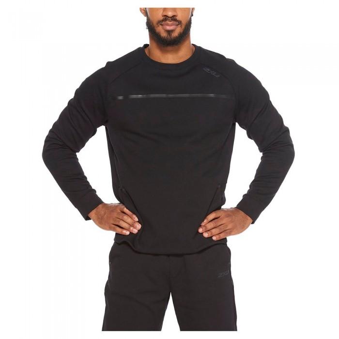 [해외]2XU Commute Crew Sweatshirt 6138230843 Black