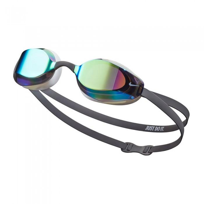 [해외]나이키 SWIM Vapor Mirror Swimming Goggles 6137424161 Iron Grey