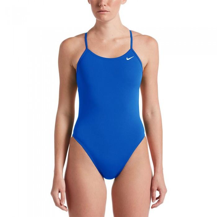 [해외]나이키 SWIM HydraStrong Solids Cut Out Swimsuit 6137423482 Game Royal