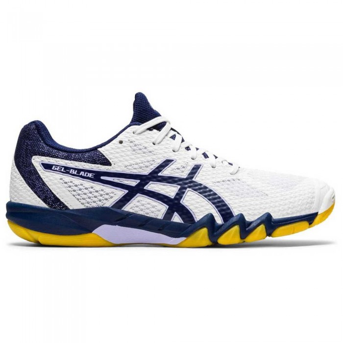 [해외]아식스 Gel Blade 7 Shoes 12137621462 White / Peacoat