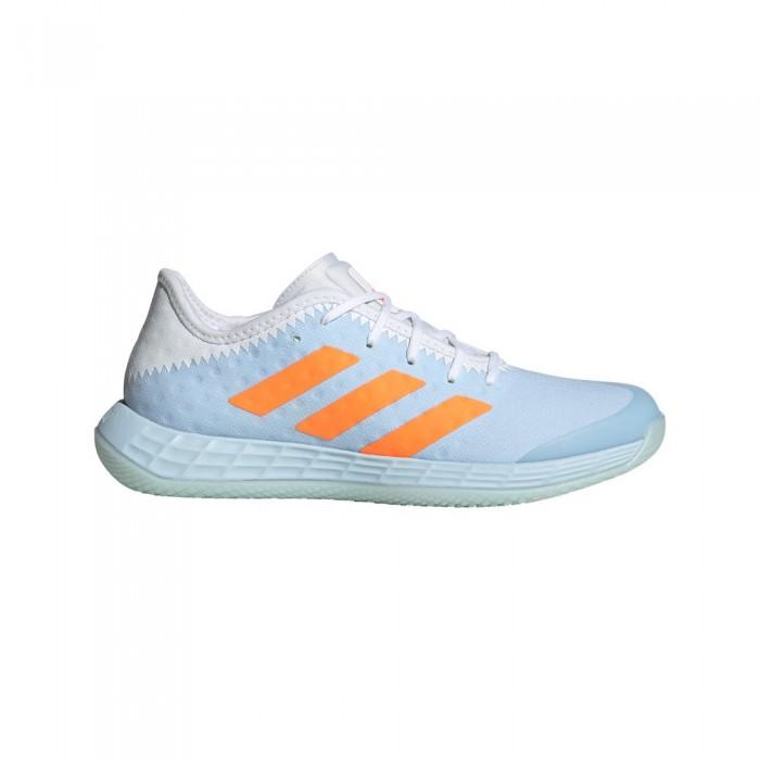 [해외]아디다스 BADMINTON Adizero Fastcourt Shoes 12137668320 Sky Tint / Ftwr White / Signal Orange