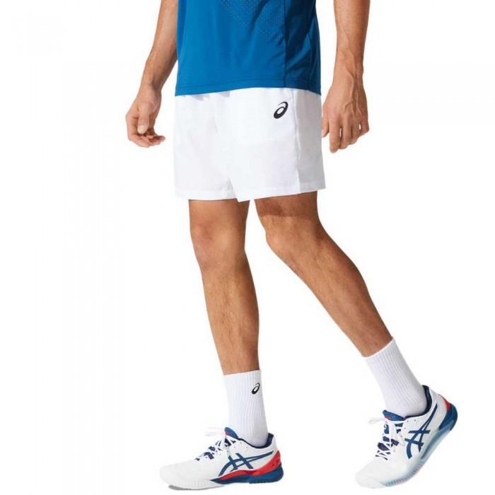 [해외]아식스 Court 7´´ Shorts 12138130982 Brilliant White