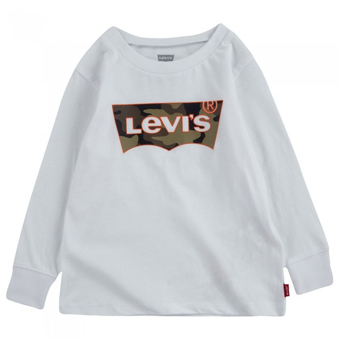 [해외]리바이스 ? KIDS Graphic Long Sleeve T-Shirt 15138145809 White