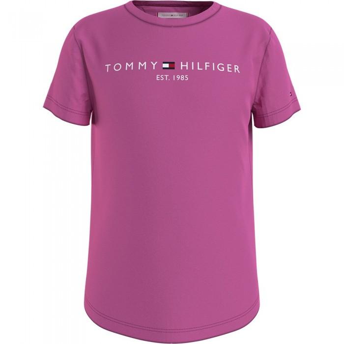 [해외]타미힐피거 KIDS Essential Short Sleeve T-Shirt 15138164908 Vivid Fuchsia