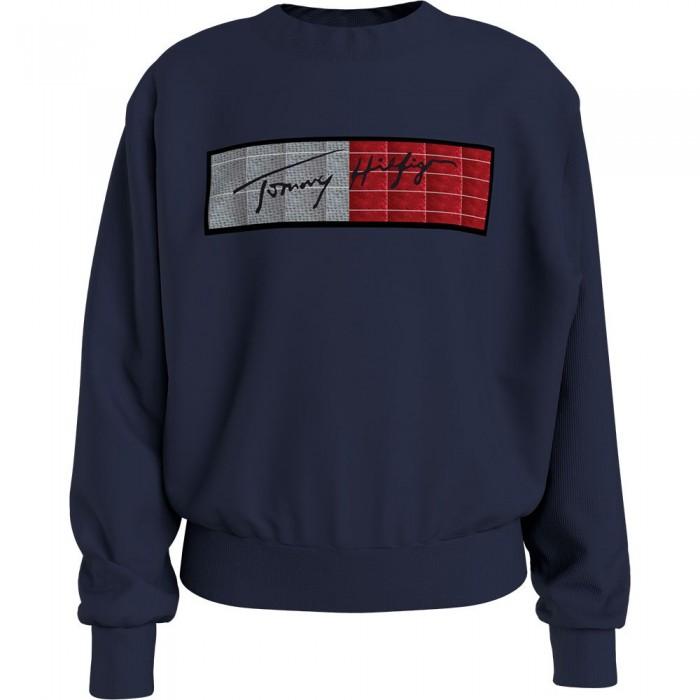 [해외]타미힐피거 KIDS Sequins Flag Sweatshirt 15138164912 Twilight Navy
